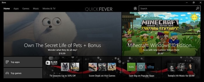 How to reinstall windows store and other Built-in Windows Apps