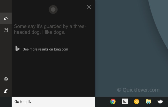 funny cortana commands, windows 10