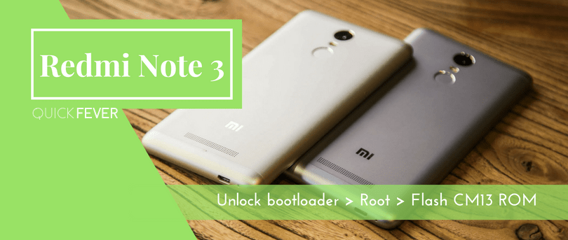 redmi note 3 root, bootloader unlock, twrp, supersu
