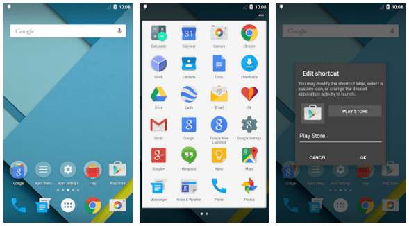 google now launcher alternative