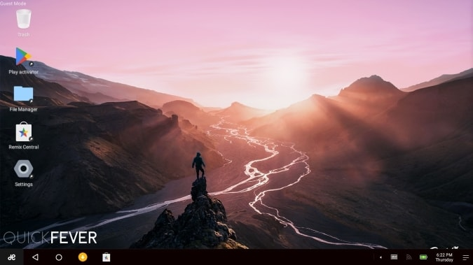 android os for pc, remix os